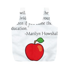 Fruit of Education Full Print Recycle Bags (M)
