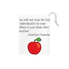 Fruit of Education Drawstring Pouches (Small)
