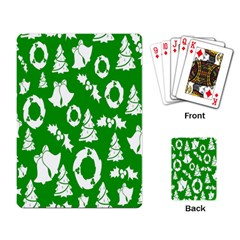 Backdrop Background Card Christmas Playing Card