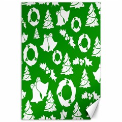 Backdrop Background Card Christmas Canvas 24  x 36