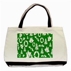 Backdrop Background Card Christmas Basic Tote Bag (Two Sides)