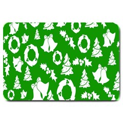 Backdrop Background Card Christmas Large Doormat