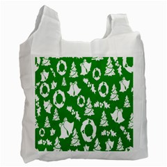 Backdrop Background Card Christmas Recycle Bag (Two Side)