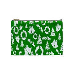 Backdrop Background Card Christmas Cosmetic Bag (medium)