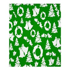 Backdrop Background Card Christmas Shower Curtain 60  x 72  (Medium)