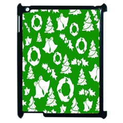 Backdrop Background Card Christmas Apple iPad 2 Case (Black)