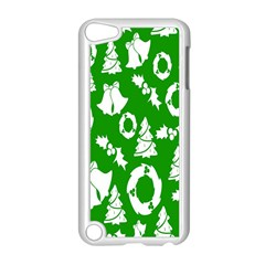 Backdrop Background Card Christmas Apple iPod Touch 5 Case (White)