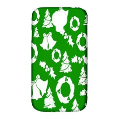 Backdrop Background Card Christmas Samsung Galaxy S4 Classic Hardshell Case (PC+Silicone)