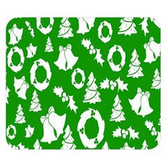 Backdrop Background Card Christmas Double Sided Flano Blanket (Small)