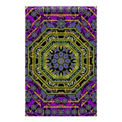 Wonderful Peace Flower Mandala Shower Curtain 48  x 72  (Small)