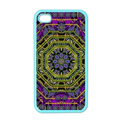Wonderful Peace Flower Mandala Apple iPhone 4 Case (Color)