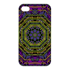 Wonderful Peace Flower Mandala Apple iPhone 4/4S Hardshell Case