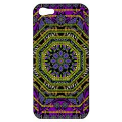 Wonderful Peace Flower Mandala Apple iPhone 5 Hardshell Case