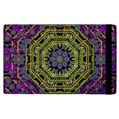 Wonderful Peace Flower Mandala Apple iPad 3/4 Flip Case