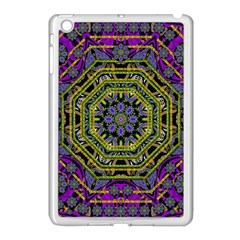 Wonderful Peace Flower Mandala Apple iPad Mini Case (White)