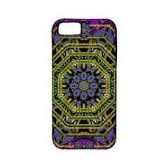 Wonderful Peace Flower Mandala Apple iPhone 5 Classic Hardshell Case (PC+Silicone)