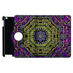 Wonderful Peace Flower Mandala Apple iPad 2 Flip 360 Case