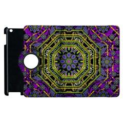 Wonderful Peace Flower Mandala Apple iPad 3/4 Flip 360 Case
