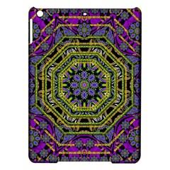 Wonderful Peace Flower Mandala iPad Air Hardshell Cases