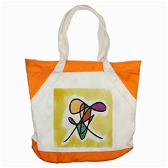 Art Abstract Exhibition Colours Accent Tote Bag