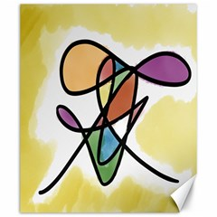 Art Abstract Exhibition Colours Canvas 20  x 24