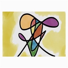 Art Abstract Exhibition Colours Large Glasses Cloth