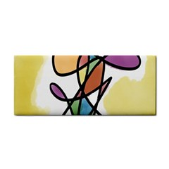 Art Abstract Exhibition Colours Cosmetic Storage Cases