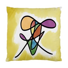 Art Abstract Exhibition Colours Standard Cushion Case (Two Sides)
