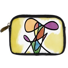 Art Abstract Exhibition Colours Digital Camera Cases