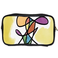 Art Abstract Exhibition Colours Toiletries Bags 2-Side