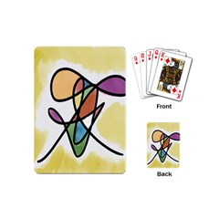 Art Abstract Exhibition Colours Playing Cards (Mini)