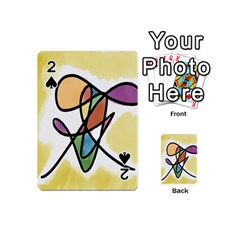 Art Abstract Exhibition Colours Playing Cards 54 (Mini)