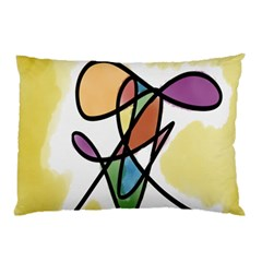Art Abstract Exhibition Colours Pillow Case (Two Sides)