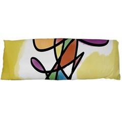 Art Abstract Exhibition Colours Body Pillow Case (Dakimakura)