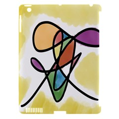 Art Abstract Exhibition Colours Apple iPad 3/4 Hardshell Case (Compatible with Smart Cover)