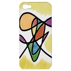 Art Abstract Exhibition Colours Apple iPhone 5 Hardshell Case
