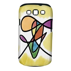 Art Abstract Exhibition Colours Samsung Galaxy S III Classic Hardshell Case (PC+Silicone)