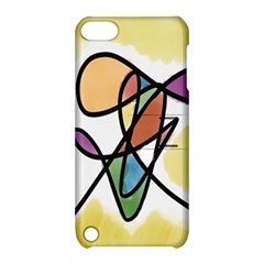 Art Abstract Exhibition Colours Apple iPod Touch 5 Hardshell Case with Stand