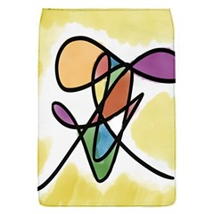 Art Abstract Exhibition Colours Flap Covers (S)