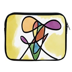 Art Abstract Exhibition Colours Apple iPad 2/3/4 Zipper Cases