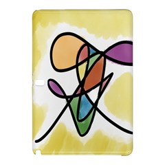 Art Abstract Exhibition Colours Samsung Galaxy Tab Pro 10.1 Hardshell Case