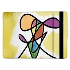 Art Abstract Exhibition Colours Samsung Galaxy Tab Pro 12 2  Flip Case