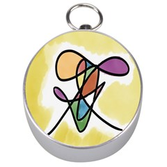 Art Abstract Exhibition Colours Silver Compasses