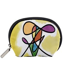 Art Abstract Exhibition Colours Accessory Pouches (Small)