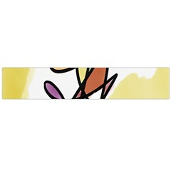 Art Abstract Exhibition Colours Flano Scarf (Large)
