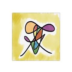 Art Abstract Exhibition Colours Satin Bandana Scarf