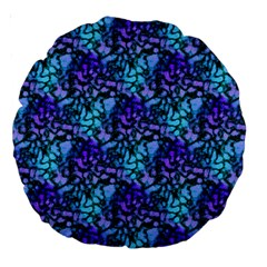 Glitter Rush Large 18  Premium Round Cushion
