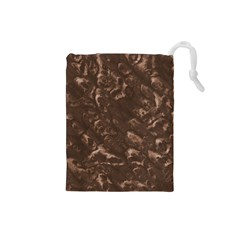 Brown Pouch - Small Drawstring Pouch (Small)