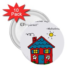 No School Greater... 2.25  Buttons (10 pack)