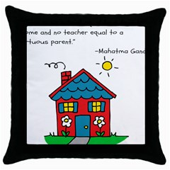 No School Greater... Throw Pillow Case (Black)